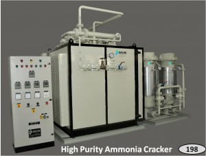 Ammonia Cracker for Hydrogen-Nitrogen mix production