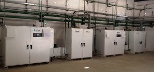 (Photo of 2 Nos. Proton Hydrogen plants running at customer facility)